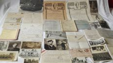 Interesting military batch period kingdom and republic. photographs,prisoners of war ...