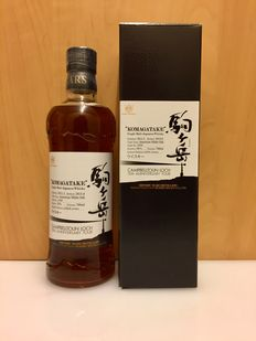 "Shinshu Mars Komagatake 2012 ""Campbelltoun Loch 15th Anniversary Tour"" just 614 Bottles Cask No.1559  - American White Oak Barrel -"