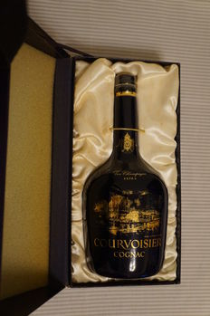 Courvoisier Extra Cognac in Bernardaud Limoges Decanter, Worldwide Limited Edition of 6,000 Decanters