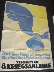German poster;    Very large