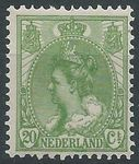 "Check out our The Netherlands 1899 – Queen Wilhelmina ""Fur collar"" NVPH 68, with inspection certificate."
