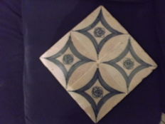 Set of Four (4) Tiles on Acrylic from the 18th Century, Portugal