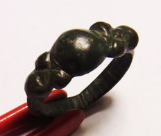"Roman massive legionary ring ""X"" - 18.4mm"