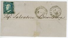 Sicily, 1859 – small selection of stamps and envelopes