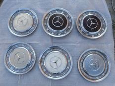 Lot of 6 Studs for Mercedes-Benz period 70s/80s