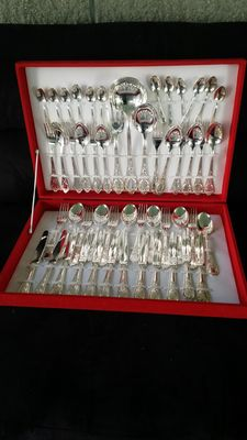 Silver set for 12 people