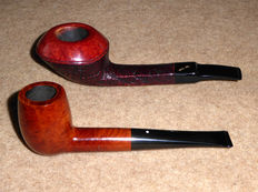 Dunhill Root Briar (size 4) and Savinelli Autograph
