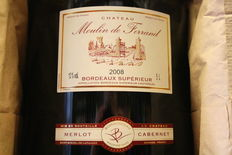 2008 Chateau Moulin de Ferrand in original box – 5 litres