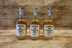 Jameson TRIO - The Cooper's Croze - The Distiller's Safe - The Blender's Dog - 3 Bottles