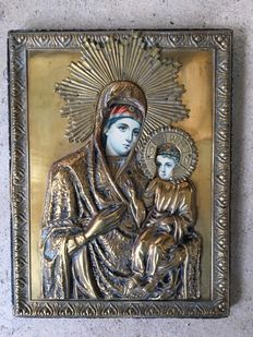 Orthodox icon - Greece- 1 9th century