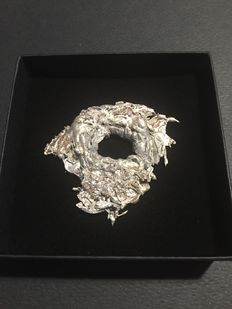 Large Silver Nugget - 5.8 x 5.2 x 1cm - 35 gm - 175 ct