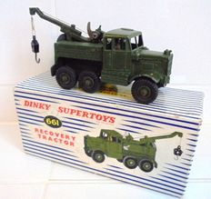 Dinky Supertoys - Scale 1/48 - Recovery Tractor No.661