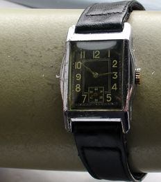 Artdeco watch - men's watch - 1940s.