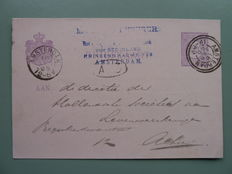 The Netherlands – Postal items and miscellaneous from 1875 on