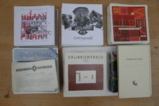 """Ex-libris; Lot with 36 volumes """"Exlibriswereld"""" - 1958-1969 and 1993-2016"""