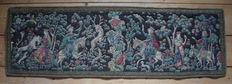 A German cotton quilted tapestry - ca. 1930