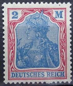 German Reich 1920/1922 - selection with graded colour, watermark and type studies, Michel 140/153, 197/198 and 224/232.