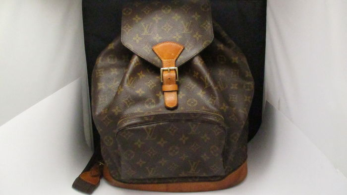 Louis Vuitton Montsouris – Backpack - Catawiki d2d119d96a2