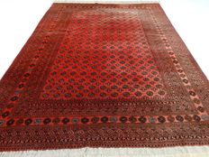 "Afghan – 340 x 257 cm – ""Authentic Persian carpet in beautiful condition"" – Note! No reserve price: starts at €1."