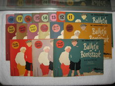 A.M. de Jong - Bulletje en Bonestaak - 18 volumes - 1952 / 1959