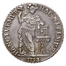 West Friesland – 3 Guilder 1793 – silver