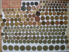 Russia/USSR - Various coins & Banknotes, 2 Big Medals, Award 1882-1991