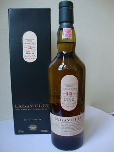 Lagavulin 12 years 5th edition- Cask Strength - Bottled 2005 Special Release