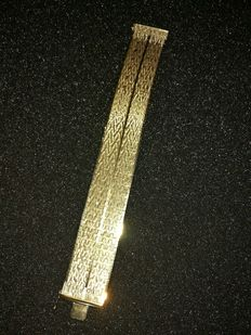 18kt Gold-plated ( .925 silver ) bracelet from the 20th century