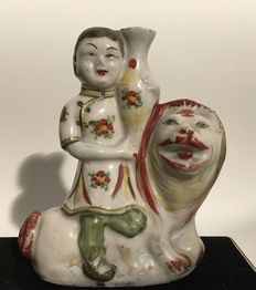 Porcelain incense-holder - China - Approx. 1900