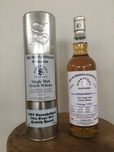 Bunnahabhain 13 years old 1997 Signatory