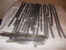 Roco/GT Italy H0 - 42200/4440 - 45 pieces flex rails in various lengths