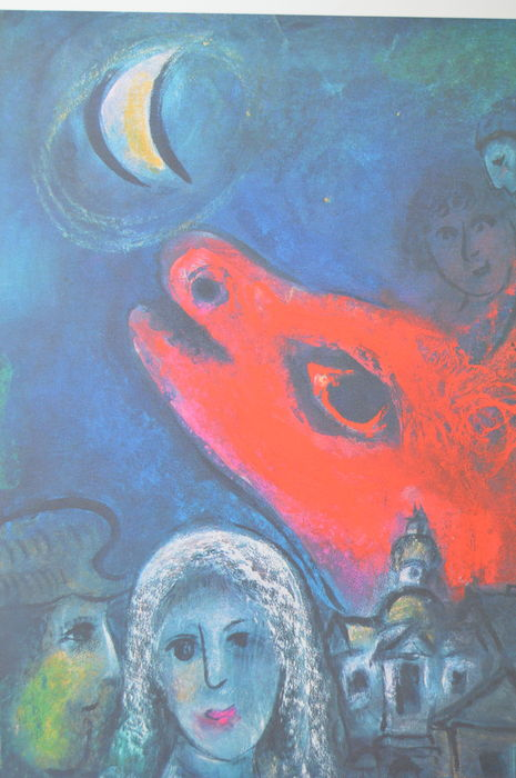 Marc Chagall (after) - An den Mond