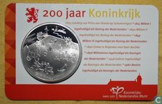 "The Netherlands - Coin 2012 ""200th anniversary of the Kingdom"" in coin card."