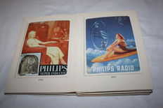 Lot of 10 tin Philips advertising signs