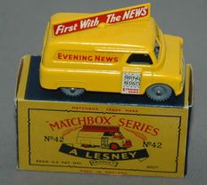 Lesney Matchbox - Scale 1/87 - Evening News Van No.42, scarce