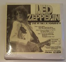"""Led Zeppelin """" For badge holders only """" 2 LPs  First press"""