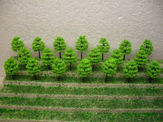 Scenery N - 200-piece lot of trees