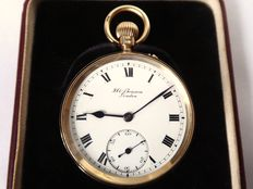 A. Benson London. gent's pocket watch 1924-1925