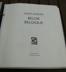 Belgium 1960/1974 - collection of stamps, sets and blocks in Davo album.