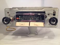 Blaupunkt Berlin ATR classic car radio from 1962 for Porsche 356, Volkswagen, Borgward, Panhard.