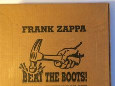 """Limited Edition Box Set """"Beat The Boots"""" by Frank Zappa"""