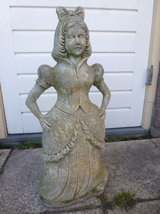 Garden Statue Snow White Stone Concrete 20th Century Catawiki