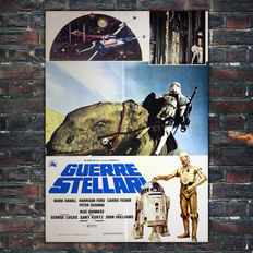 Star Wars A New Hope - Original Italian movie poster - 1977 - Size: 68x98cm