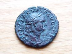 Roman Empire - Vespasianus As 11g 28mm (69-79 AD)
