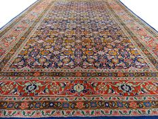 "Indo Sarough – 291 x 190 cm – ""Oriental carpet in beautiful condition""."
