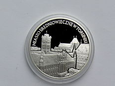 Poland - 20 Zlotych 2007 'The historical old town of Torun / Thorn' - silver