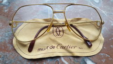 Cartier - men's glasses Vintage