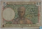 French Equatorial Africa 5 Franc 1941