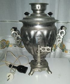 Vintage Russian Electric Samovar _ 1985