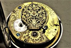 Thomas Sutton - Gentleman's pocket watch with verge fusee escapement - Around 1800